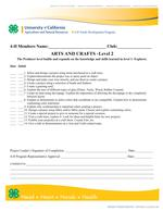 Arts & Crafts Proficiency Level 1-3 - updated 2017_002