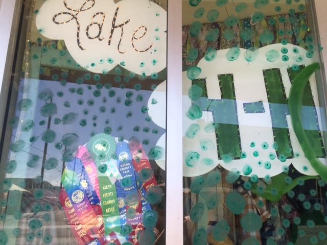Lake 4-H Club Window Display